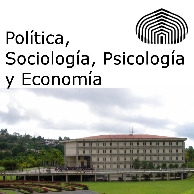 Política, Sociología, Psicología y Economía